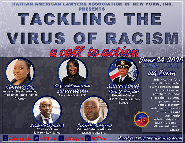 HALANY Tackling the Virus of Racism: Call to Action image