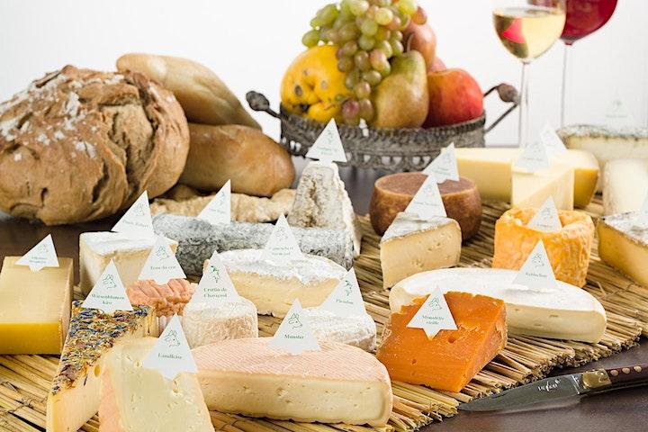 Online Tasting für Käse & Wein: Bild