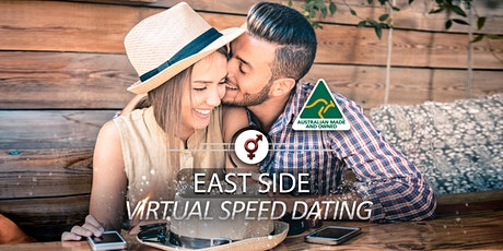 East Side VIRTUAL Speed Dating | 34-46 | August tickets
