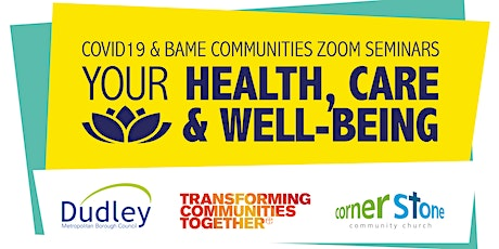 Covid 19 and the Health and wellbeing of BAME communities tickets