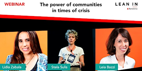 The Power of Communities in the Times of Crisis entradas