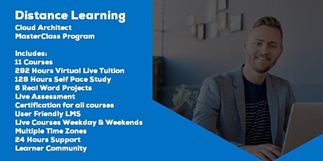 Live Instructor Led Distance Learning Cloud Architect MasterClass Program tickets