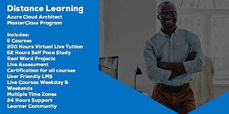 Live Instructor Led Distance Learning Azure Cloud Architect MasterClass tickets