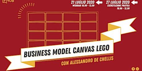 Business Model Canvas Lego - webinar + esercitazione biglietti
