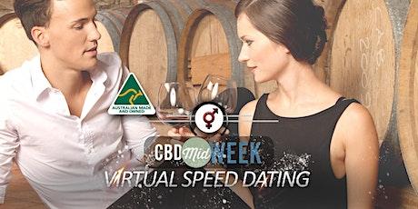 CBD Midweek VIRTUAL Speed Dating | F 40-52, M 40-54 | July tickets