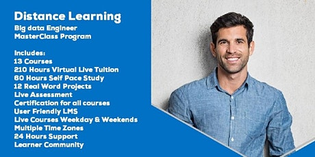 Live Instructor Led Distance Learning Big Data Engineer MasterClass Program tickets