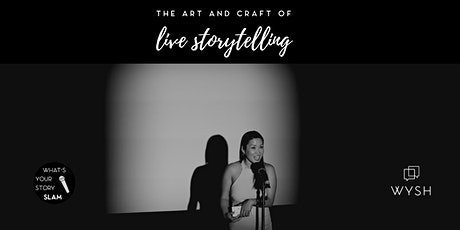 Art and Craft of Live Storytelling (Intro) - 6 week course tickets