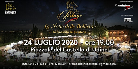 Perlage La Notte delle Bollicine 2020 biglietti
