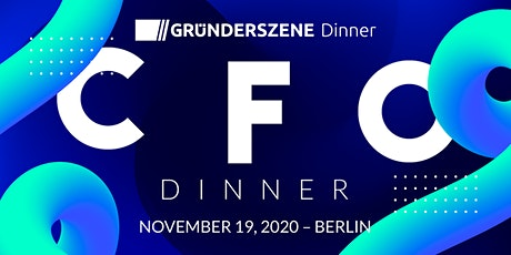 Gründerszene CFO Dinner - 19.11.2020 tickets