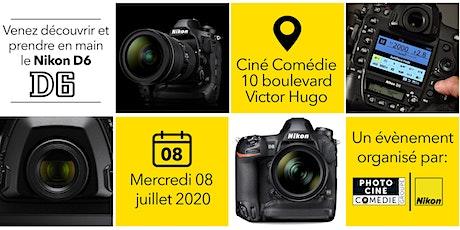Nikon D6 - Découverte et prise en main tickets