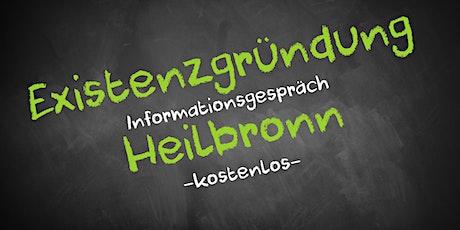 Existenzgründung Informationsveranstaltung - Online AVGS Heilbronn Tickets
