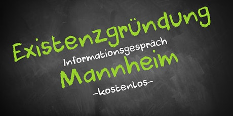 Existenzgründung Online kostenfrei - Infos - AVGS Mannheim Tickets