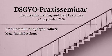 DSGVO Praxisseminar: Rechtsentwicklung und Best Practices Tickets