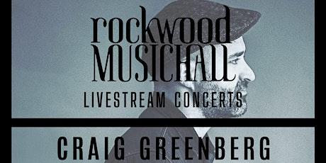 Craig Greenberg - INSTAGRAM LIVE tickets