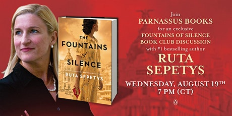Book Club  Event for Fountains of Silence tickets
