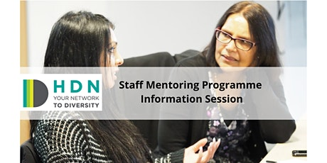 HDN Staff Mentoring Programme - Information Session tickets