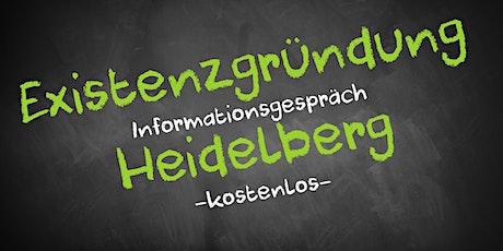 Existenzgründung Online kostenfrei - Infos - AVGS Heidelberg Tickets