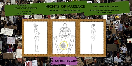 """""""Rights of Passage"""" by Michelle Tyrene Johnson (Livestream! 7/10/20) tickets"""