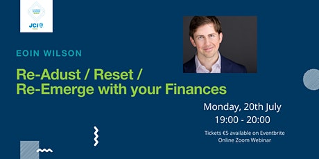 Re-adjust/ Reset/ Re-emerge with your finances tickets