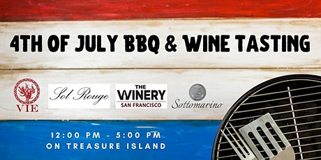 4th of July Barbecue & Wine Tasting at The Winery SF tickets