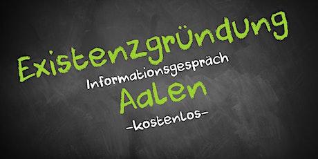 Existenzgründung Online kostenfrei - Infos - AVGS Aalen Tickets