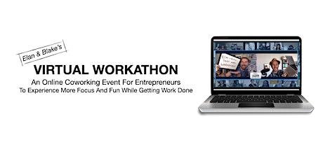 Elan and Blake's Virtual Workathon #10 tickets