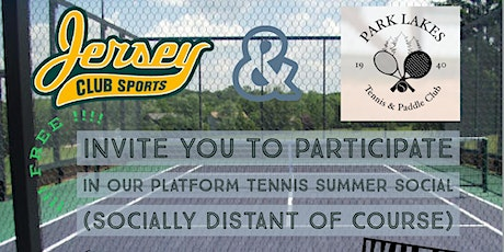 Platform Tennis Summer Social tickets