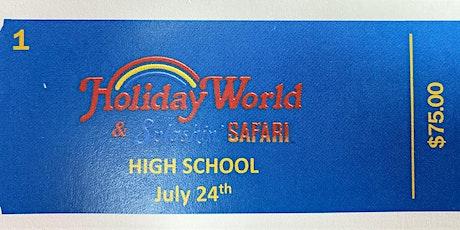 Grace Baptist Church High School Holiday World Trip tickets