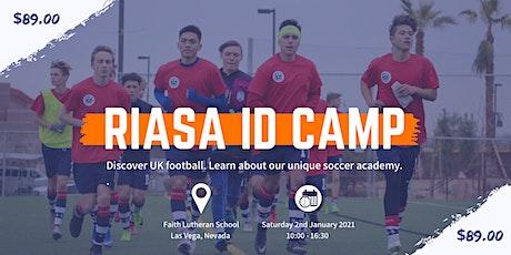 RIASA ID CAMP - LAS VEGAS, NEVADA  | UK COLLEGE  SOCCER CAMP | USA ID CAMP tickets