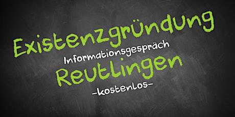 Existenzgründung Online kostenfrei - Infos - AVGS Reutlingen Tickets