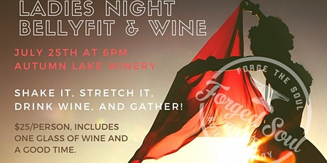 Ladies Night Bellyfit & Wine tickets