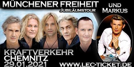 Münchener Freiheit Jubiläumstour & Markus (Ich will Spaß) Tickets