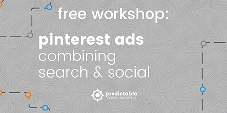 Combining the Power of Search and Social with Pinterest Ads tickets