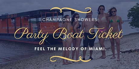 Miami Boat Party Early Bird Special billets