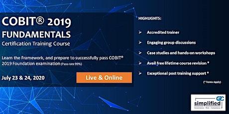 COBIT 2019 Foundation tickets