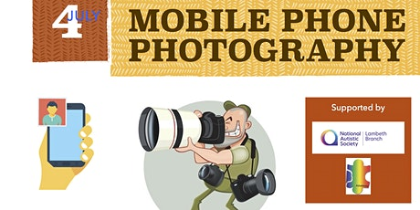 Online Mobile Photography workshop for ASC children and parents tickets