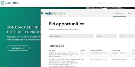 Builterra - Bids and Tenders eProcurement Workflow tickets