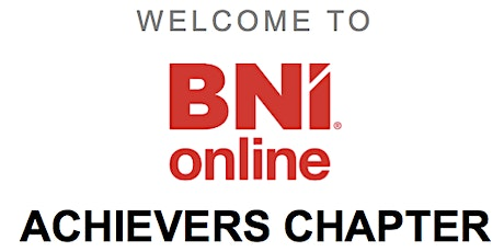 BNI Online - Professional Networking Group tickets