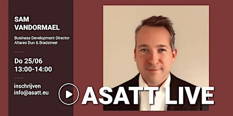 ASATT Live met Sam Vandormael Business Development Director tickets