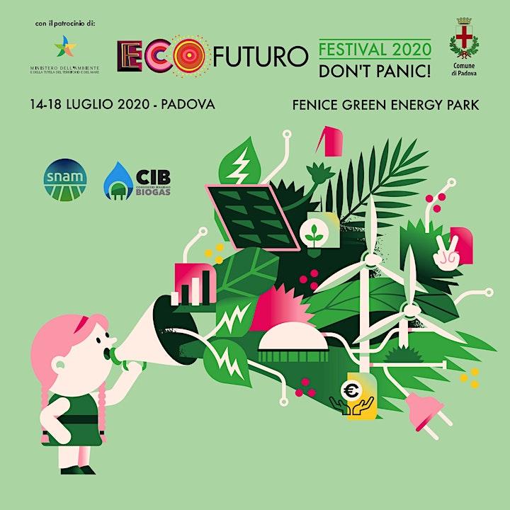 Immagine ECOSANIFICARE PER IL COVID, L'INQUINAMENTO E LA CO2 Ecofuturo Festival 2020