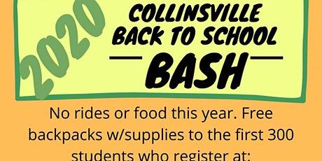 Collinsville Back To School Bash tickets