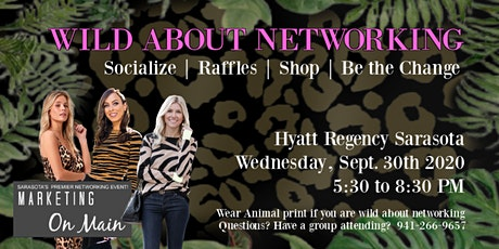 Sept. 30th | Wild about Networking tickets