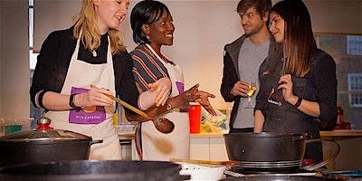 Vegetarian Nigerian cookery class with Elizabeth