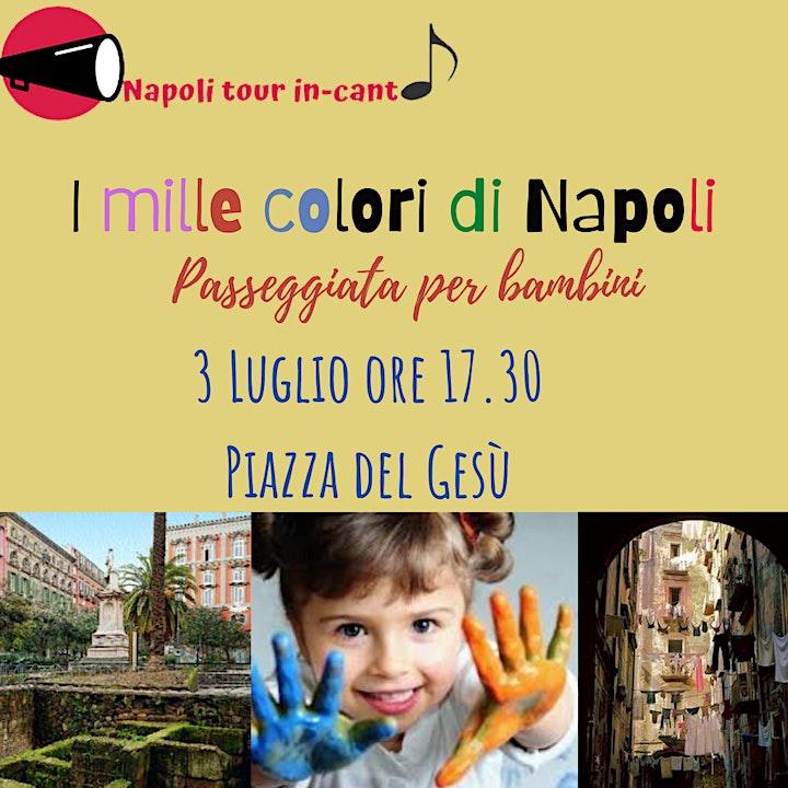 Immagine I mille colori di Napoli: passeggiata per bambini