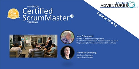 Certified ScrumMaster® Training  October 19-20, Long Beach | Scrum & Fun! tickets
