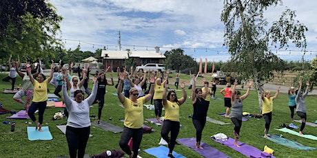 Yoga Brunch at Bloomingcamp Ranch tickets
