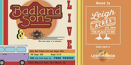 Badland Sons + Remy Neal tickets