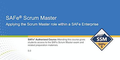 Certified SAFe® Scrum Master tickets