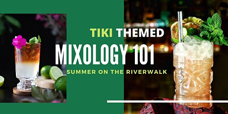 OUTDOOR TIKI MIXOLOGY COCKTAIL TASTING ON THE CHICAGO RIVERWALK tickets