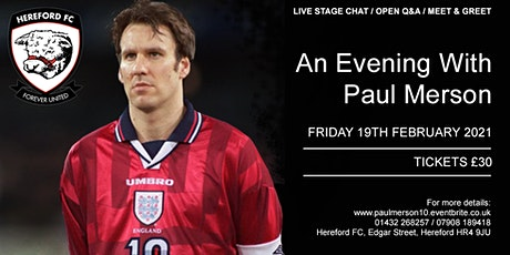 PAUL MERSON - An Evening With tickets